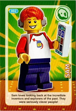 Create the World Lego Incredible Inventions Card #053 Guitar