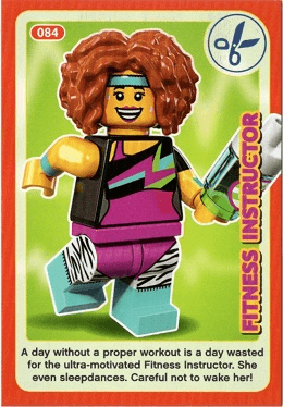 Lego Incredible Inventions Create the World Card #075 Ice Queen