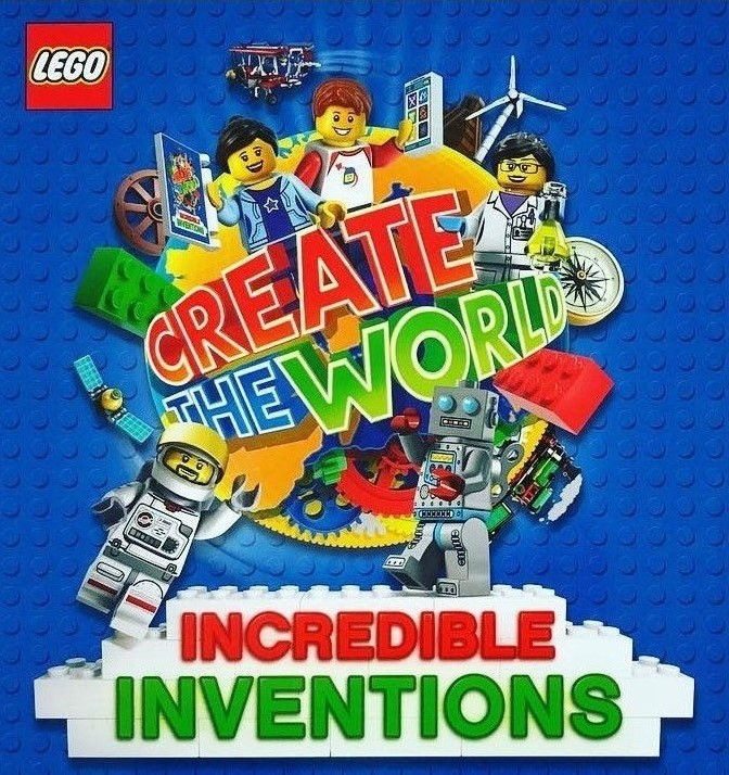 Create the World Lego Incredible Inventions Card #107 Ice-Cream Stand